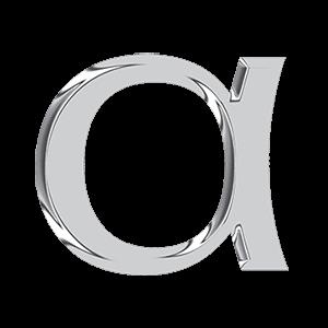 logo 3D blu